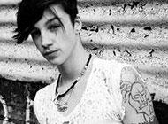 另类个性欧美男生纹身头像图