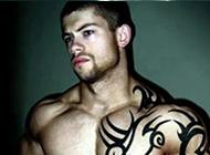 个性霸气的欧美帅哥纹身头像