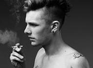 欧美时尚霸气男生纹身头像合集