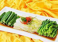 清淡的白灼蔬菜图片欣赏