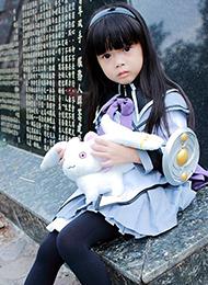 台湾小萝莉cosplay晓美焰图片
