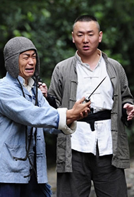 抗日电视剧《我的父亲是板凳》王宝强高清剧照