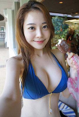 韩国模特金敏英逆天身材美照