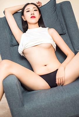 白皙美女王竹室内性感高清图片