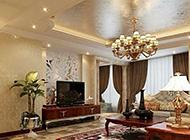 三居室客厅电视背景墙装修效果图