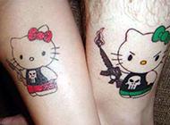 个性情侣腿部纹身图片赏析