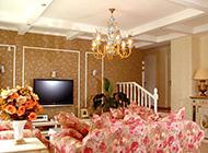 精选八款客厅田园风格实景图