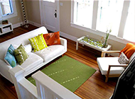中式客厅小清新装修风格图片