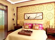经典复古中式卧室装修效果图