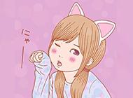 超萌可爱少女风卡通图片集锦