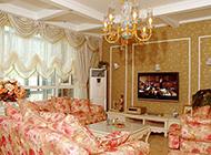 超大气的复式客厅装修效果图