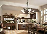 别致的大户型厨房装修效果图