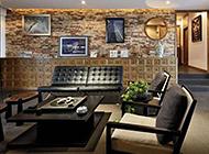最新中欧混搭客厅装修效果图