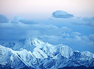 四川贡嘎雪山风景超清图片