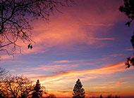 塞拉利昂落日景色唯美图片