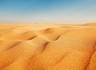 一望无际的沙漠高清图片欣赏