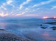 清晨海边日出唯美图片赏析