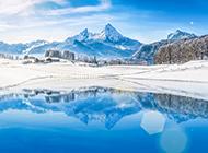 北方漂亮的冬天雪景图片