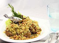 法式西餐香草焗羊排图片