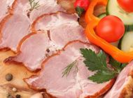 刀工整齐的烧烤腌肉图片