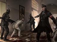 射击游戏德军总部新秩序壁纸