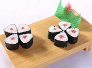 好吃的火腿小卷寿司图片