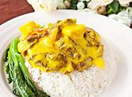 自制日式咖喱牛肉饭图片