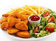 快速便捷的西餐美式炸鸡图片