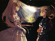 日本黑暗系动漫图片壁纸赏析