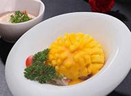 泰式鲜虾芒果沙拉图片