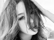 最新个性美女黑白qq头像图片