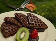 下午茶点心巧克力松饼图片