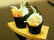 超好吃的三文鱼手卷图片
