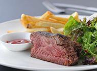 美式西餐经典牛排图片赏析