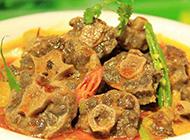 澳门中式西餐咖喱牛尾煲图片