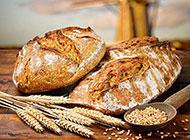 小麦面包超清摄影图片