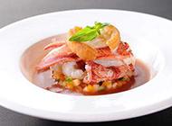 美味的西式海鲜汤图片