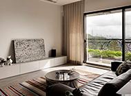 公寓客厅现代风格装修效果图