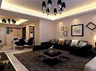 超有格调的简约客厅装修效果图