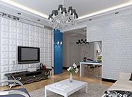 现代式简约客厅装修风格效果图