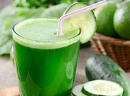 鲜榨青瓜汁实拍图片