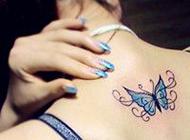 唯美简约的qq女生纹身头像