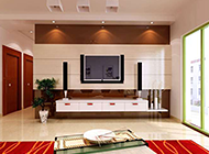 最新现代中式客厅装修效果图