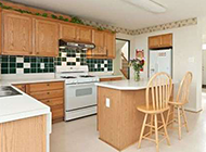 新中式厨房装修精美效果图