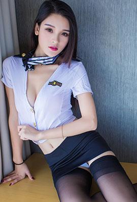 极品美女吕诗茗空姐制服高清写真