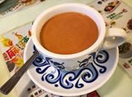 一杯经典原味奶茶图片