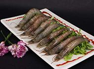 生虾的摆盘实拍图片