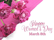 节日祝福玫瑰花艺术图欣赏