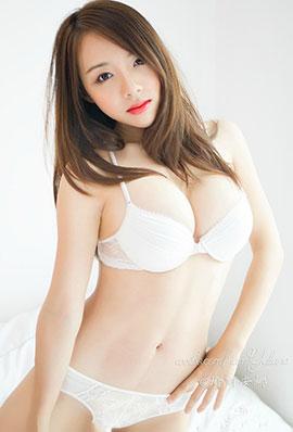 中国时尚模特瑜丽安娜微博美图