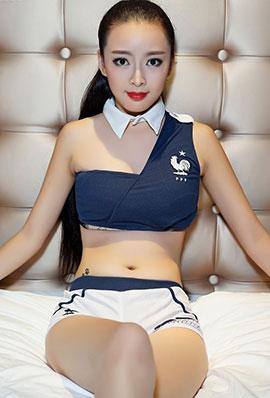 中国拉拉队美女汤悦写真图片
